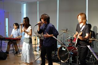 軽音楽部のバンド!
