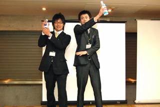 大賞の二人☆