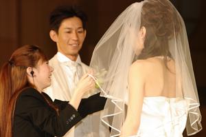 本物の結婚式