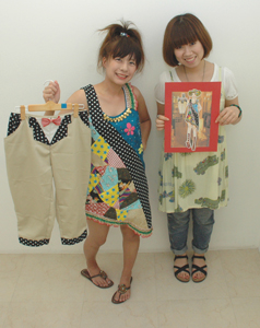 ファッションデザイン科写真