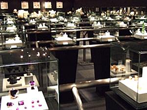 宝石博物館の中